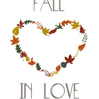 Fall In Love Banner Template